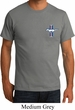 Mens Ford Shirt Legend Lives Crest Pocket Print Organic Tee T-Shirt