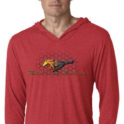 Mens Ford Shirt Make It My Mustang Lightweight Hoodie Shirt