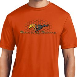 Mens Ford Shirt Make It My Mustang Moisture Wicking Shirt