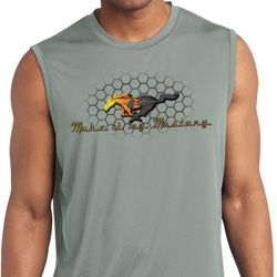 Mens Ford Shirt Make It My Mustang Sleeveless Moisture Wicking Shirt