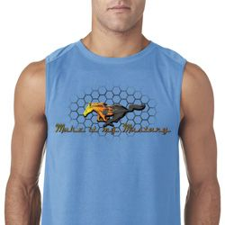 Mens Ford Shirt Make It My Mustang Sleeveless Shirt
