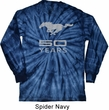 Mens Ford Shirt Mustang 50 Years Long Sleeve Tie Dye Tee T-shirt