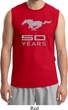 Mens Ford Shirt Mustang 50 Years Muscle Tee T-Shirt