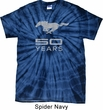 Mens Ford Shirt Mustang 50 Years Spider Tie Dye Tee T-shirt