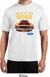 Mens Ford Shirt Mustang Who's The Boss Moisture Wicking Shirt
