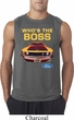 Mens Ford Shirt Mustang Who's The Boss Sleeveless Shirt