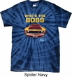 Mens Ford Shirt Mustang Who's The Boss Spider Tie Dye Shirt