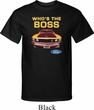 Mens Ford Shirt Mustang Who's The Boss Tall Shirt