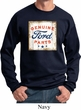 Mens Ford Sweatshirt Distressed Genuine Ford Parts Sweat Shirt