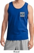 Mens Ford Tanktop Built Ford Tough Pocket Print Tank Top