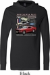 Mens Ford Tee Classic Mustangs Untamed Lightweight Hoodie