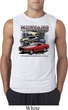 Mens Ford Tee Classic Mustangs Untamed Sleeveless Shirt