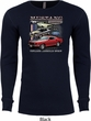 Mens Ford Tee Classic Mustangs Untamed Thermal Shirt