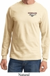 Mens Ford Tee Mustang Pocket Print Long Sleeve