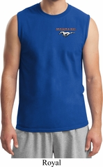 Mens Ford Tee Mustang Pocket Print Muscle Shirt