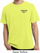 Mens Ford Tee Mustang Pocket Print Pigment Dyed T-shirt