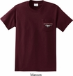 Mens Ford Tee Mustang Pocket Print Pocket Shirt