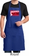 Mens Funny Apron Dropped On My Head Full Length Apron with Pockets