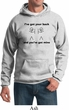 Mens Funny Hoodie I've Got Your Back Hoody