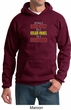 Mens Funny Hoodie Not a Bald Spot Hoody