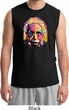 Mens Funny Shirt Albert Einstein Muscle Tee T-Shirt