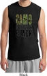 Mens Funny Shirt Camo is the New Black Muscle Tee T-Shirt