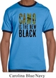 Mens Funny Shirt Camo is the New Black Ringer Tee T-Shirt