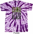 Mens Funny Shirt Camo is the New Black Twist Tie Dye Tee T-shirt