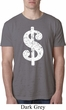 Mens Funny Shirt Distressed Dollar Sign Burnout Tee T-Shirt