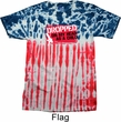 Mens Funny Shirt Dropped On My Head Patriotic Tie Dye Tee T-shirt