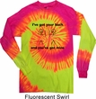 Mens Funny Shirt I've Got Your Back Long Sleeve Tie Dye Tee T-shirt