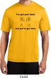 Mens Funny Shirt I've Got Your Back Moisture Wicking Tee T-Shirt