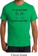 Mens Funny Shirt I've Got Your Back Organic Tee T-Shirt