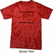 Mens Funny Shirt I've Got Your Back Spider Tie Dye Tee T-shirt