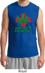 Mens Funny Shirt Natures Medicine Muscle Tee T-Shirt