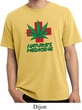 Mens Funny Shirt Natures Medicine Pigment Dyed Tee T-Shirt