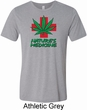 Mens Funny Shirt Natures Medicine Tri Blend Crewneck Tee T-Shirt