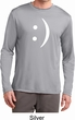 Mens Funny Shirt Smiley Chat Face Dry Wicking Long Sleeve Tee T-Shirt