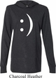 Mens Funny Shirt Smiley Chat Face Lightweight Hoodie Tee