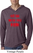 Mens Funny Tee Hit em with the Hein Lightweight Hoodie