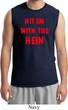 Mens Funny Tee Hit em with the Hein Muscle Shirt