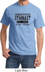 Mens Gymnastics Shirt Competitive Gymnast Tee T-Shirt