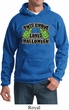 Mens Halloween Hoodie This Ghoul Loves Halloween Hoody