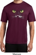 Mens Halloween Shirt Black Cat Moisture Wicking Tee T-Shirt