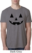 Mens Halloween Shirt Black Jack O Lantern Burnout Tee T-Shirt