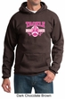 Mens Hoodie Breast Cancer Awareness Tackle Cancer Hoody