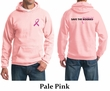 Mens Hoodie Pink Ribbon Best Pillows Ever Front & Back Print Hoody