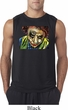 Mens Joker Face Sleeveless Shirt