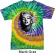 Mens Marilyn Monroe Shirt Black and White Portrait Tie Dye Tee T-shirt