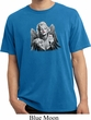 Mens Marilyn Monroe Shirt Marilyn Butterfly Pigment Dyed Tee T-Shirt
